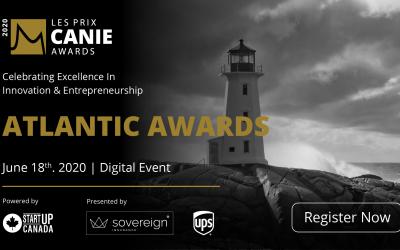 La Fondation des innovateurs et entrepreneurs est ravie de reconnaître et de célébrer les lauréats des prix CANIE de la région de l'Atlantique