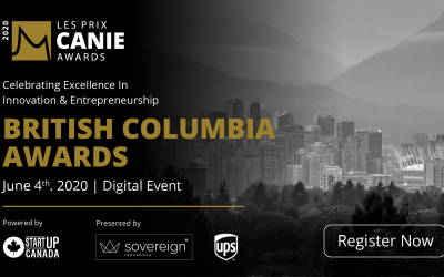 The Innovators and Entrepreneurs Foundation is delighted to recognize and celebrate the winners of the British Columbia Region CANIE Awards
