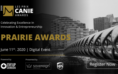 The Innovators and Entrepreneurs Foundation is delighted to recognize and celebrate the winners of the Prairies Region CANIE Awards