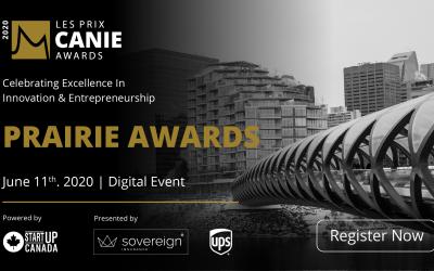 La Fondation des innovateurs et entrepreneurs est ravie de reconnaître et de célébrer les lauréats des prix CANIE de la région des Prairies